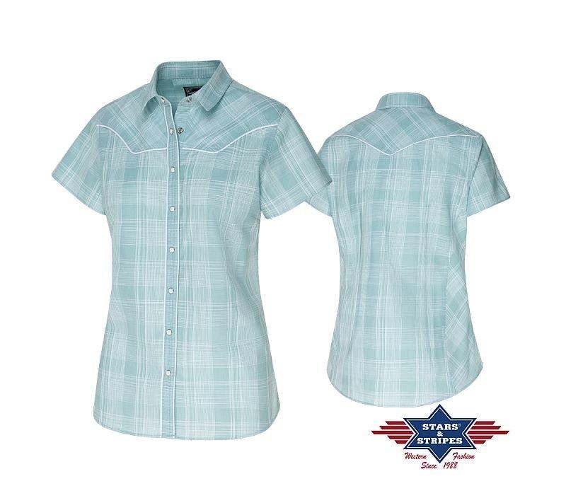 Hübsche Bluse in hellblau