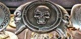 Gürtelschnalle More Skull