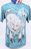 DAS T-Shirt der Indianischen Wölfe im Herz