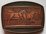 Gürtelschnalle Pferde