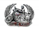 Gürtelschnalle Hell On Wheels