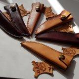 Einfache Messerscheide für 11cm Klinge