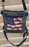 Beintasche / Leg-Bag USA Flagge